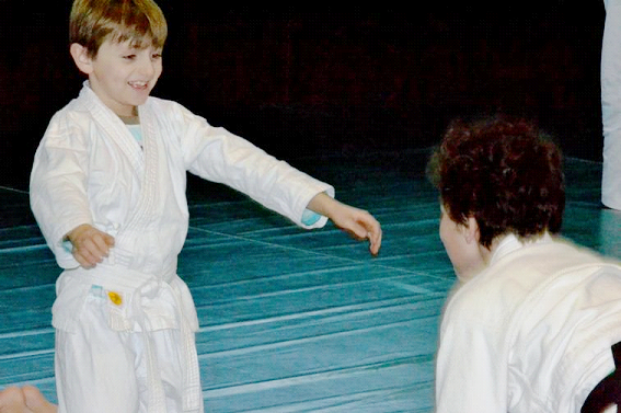 La bonne humeur Aïkido Kids