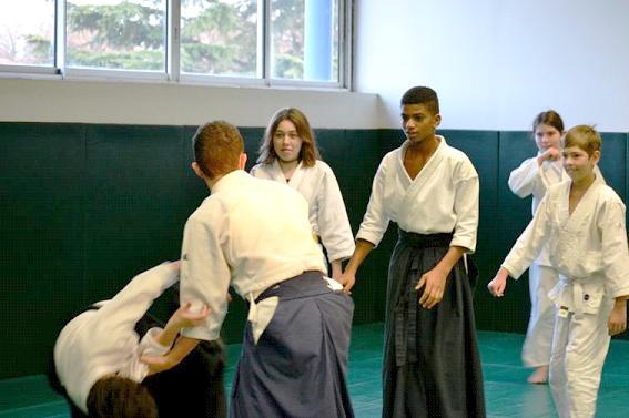 Aïkido Kids sur le tatami