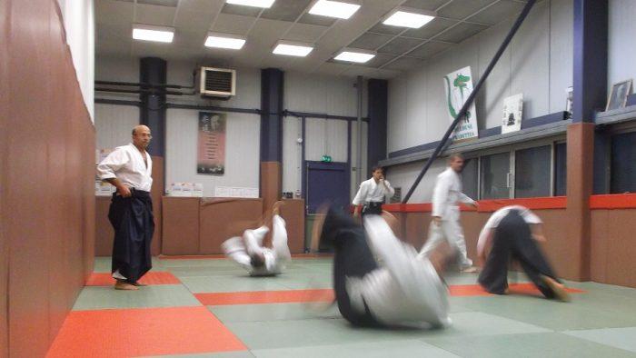 Section adultes du club d'aïkido des Pradettes