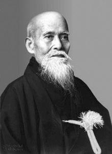Morihei Ueshiba Fondateur de l'aïkido